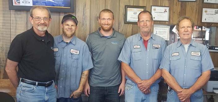Laurel Heights Automotive team