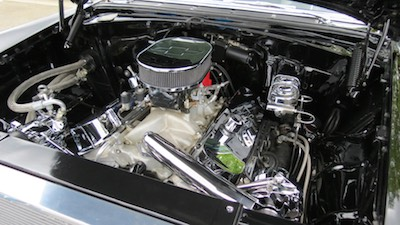muscle car engine bay