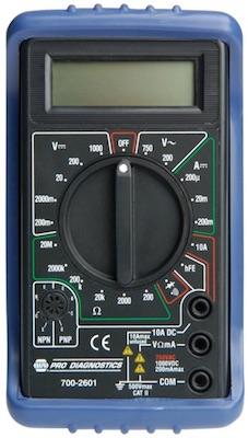 Digital Meter, TrueBlue Jr. BK 7002601