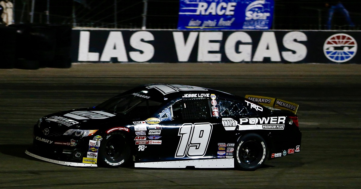 Jesse Love ARCA West debut Las Vegas 2020 19 NAPA BMR feat