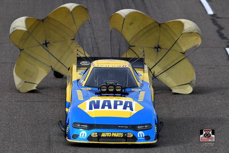 Ron Capps Arizona Nationals 2020 blue chrome NAPA AUTO PARTS Pennzoil