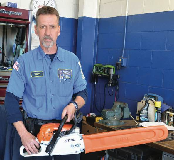 Tom Gieryic, owner Gieryic's Automotive Repair