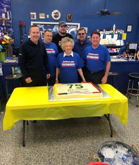 McDuffey Auto Supply 75th anniversary party