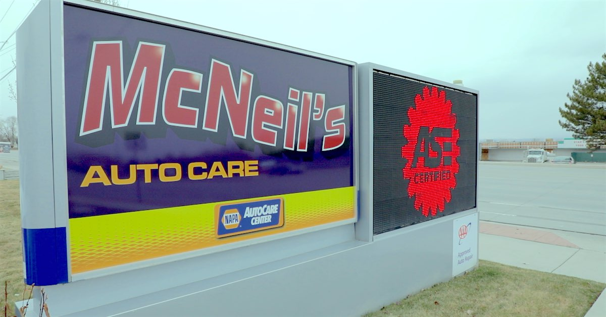 McNeil's Auto Care Named 2020 NAPA AutoCare Center of the Year!