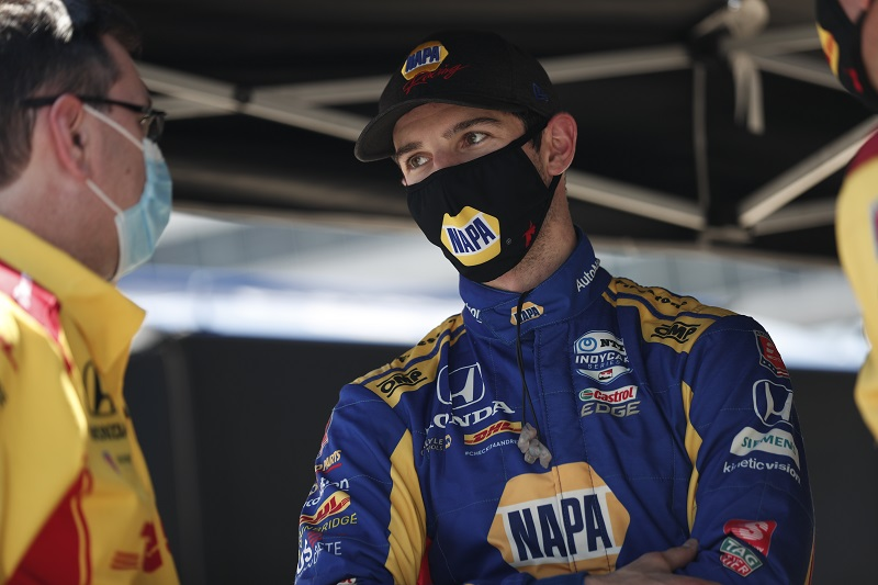 Alexander Rossi NAPA AUTO PARTS 27 IndyCar Texas 2020