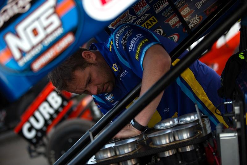 Brad Sweet Knoxville Raceway 2020 NAPA AUTO PARTS 49
