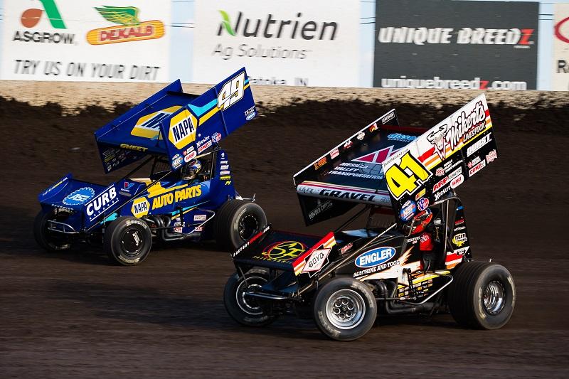 Brad Sweet Tri-State Speedway 2020 NAPA AUTO PARTS 49