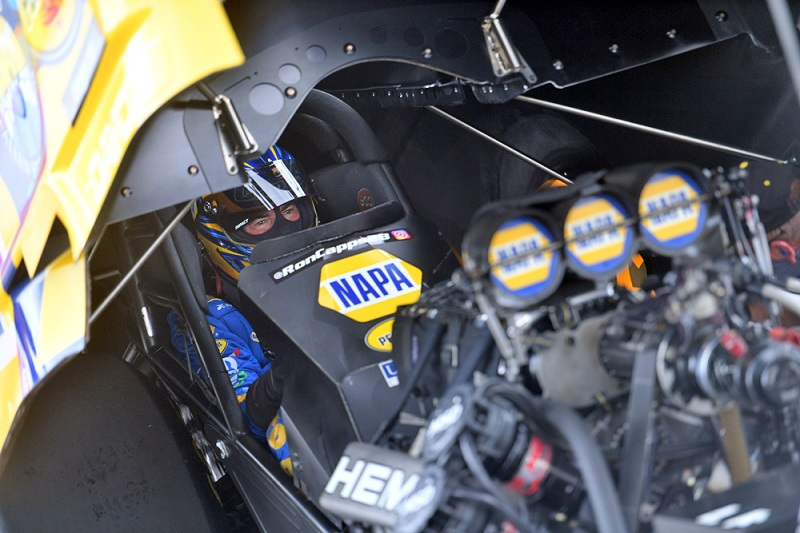 Ron Capps NHRA return to racing Indianapolis 2020 NAPA AUTO PARTS fc