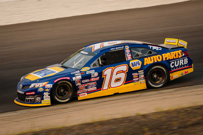 Gio Scelzi (16) during the ENEOS 150 presented by NAPA Auto Parts at Colorado National Speedway in Dacono, Colorado.