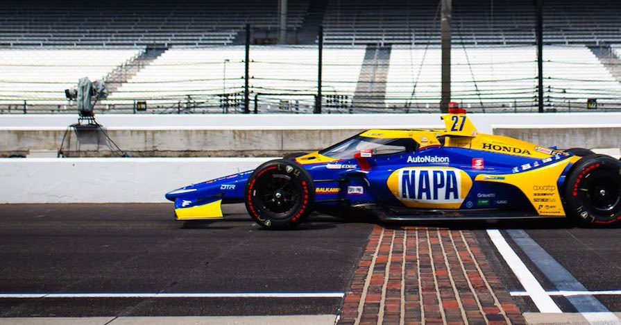 Rossi Passes NTT INDYCAR Season Halfway Mark