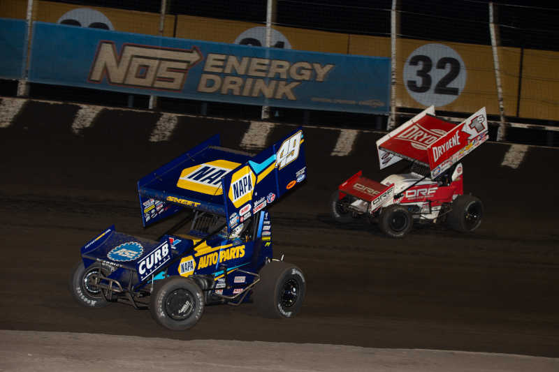 Brad Sweet Outlaws championship points lead Husets NAPA 49