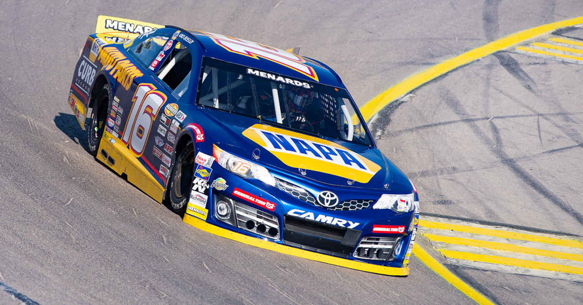Gio Scelzi The Bullring Las Vegas NAPA AUTO PARTS 16 ARCA West