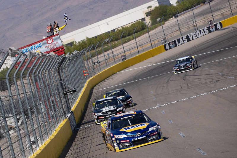 Gio Scelzi The Bullring Las Vegas NAPA AUTO PARTS 16 ARCA West