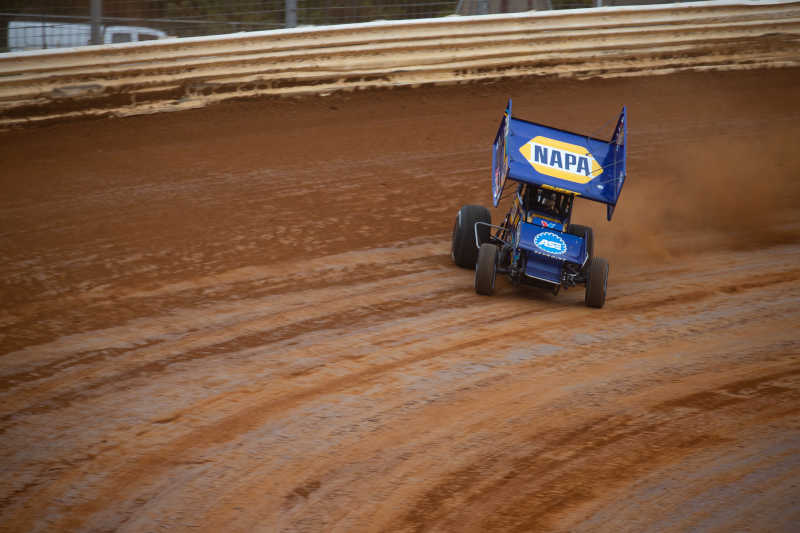 Brad Sweet Port Royal Speedway NAPA AUTO PARTS Outlaws points leader