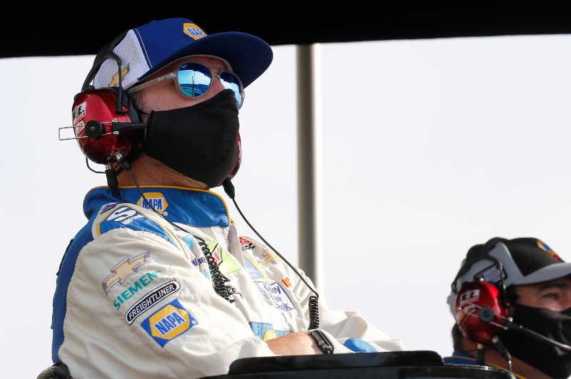 Alan Gustafson, #9: Chase Elliott, Hendrick Motorsports, Chevrolet Camaro NAPA Auto Parts