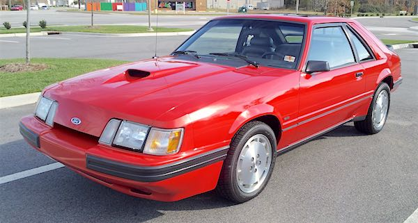 1986 Ford SVO Mustang