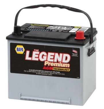 NAPA The Legend Premium AGM Battery