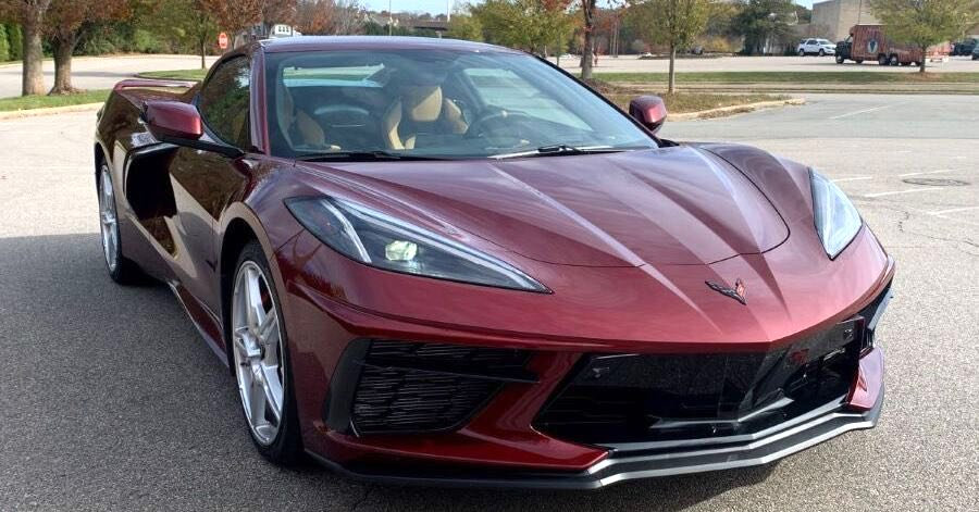 The 2020 Chevrolet Corvette Stingray.