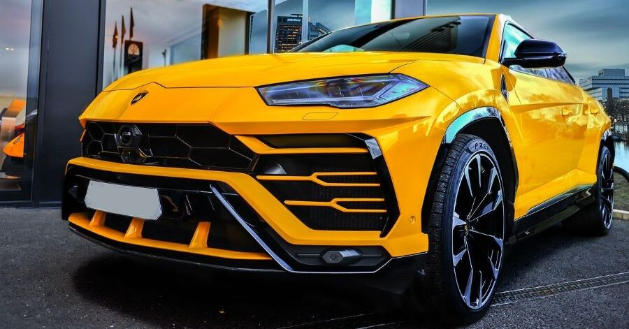 The Lamborghini Urus Crossover SUV