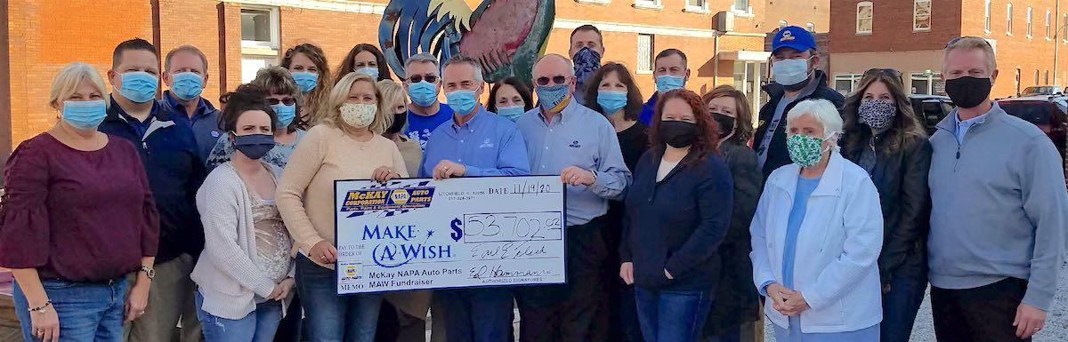 McKay NAPA Helps Make Wishes Come True For Illinois Children In 2020