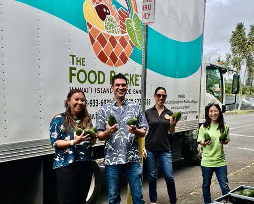 NAPA Hawaii food bank