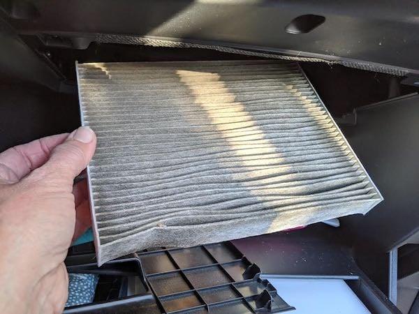 Cabin Car Air Filter Replacement