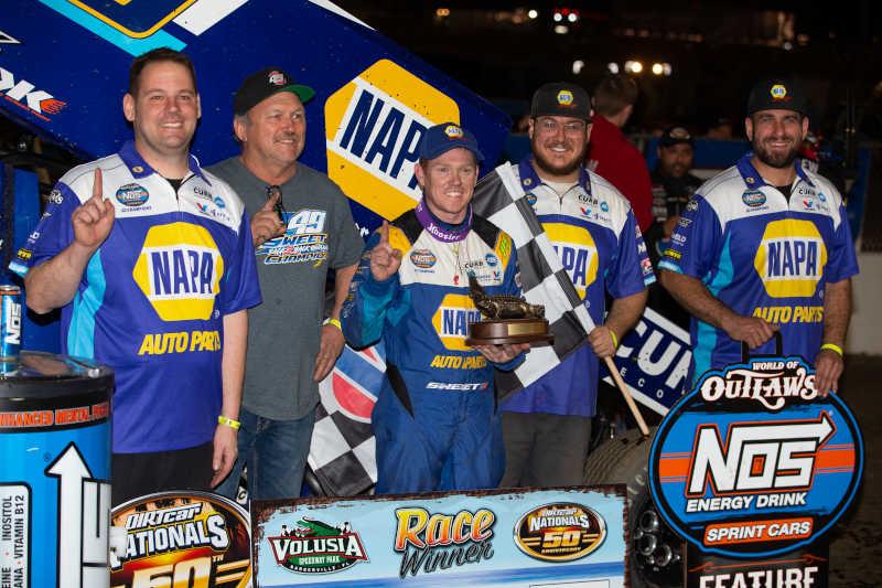 Brad Sweet DIRTcar Nationals 2021 Volusia NAPA AUTO PARTS 49
