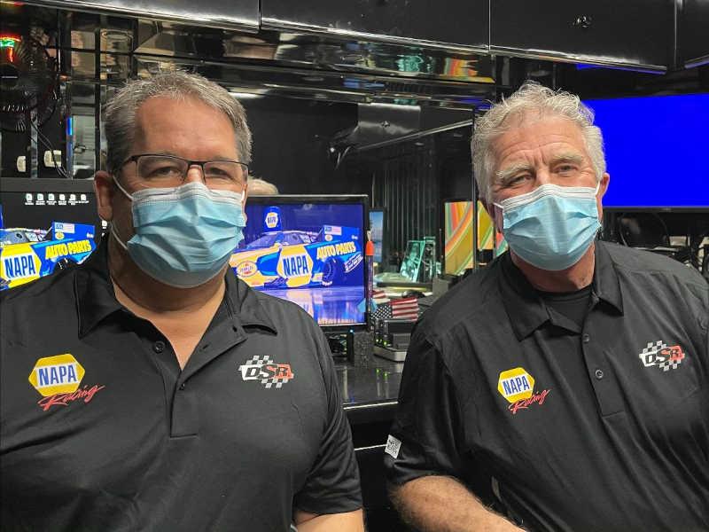 Medlen Antonelli 2021 NAPA AUTO PARTS FC crew chiefs