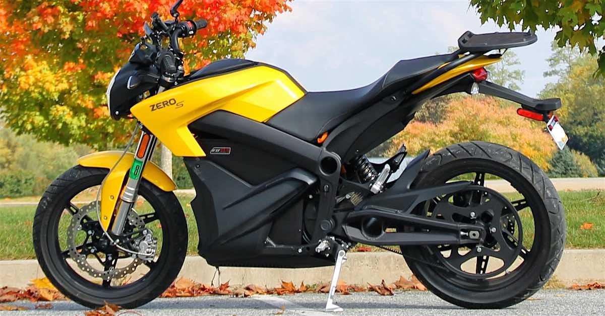 2014 Zero Motorcycles Zero S