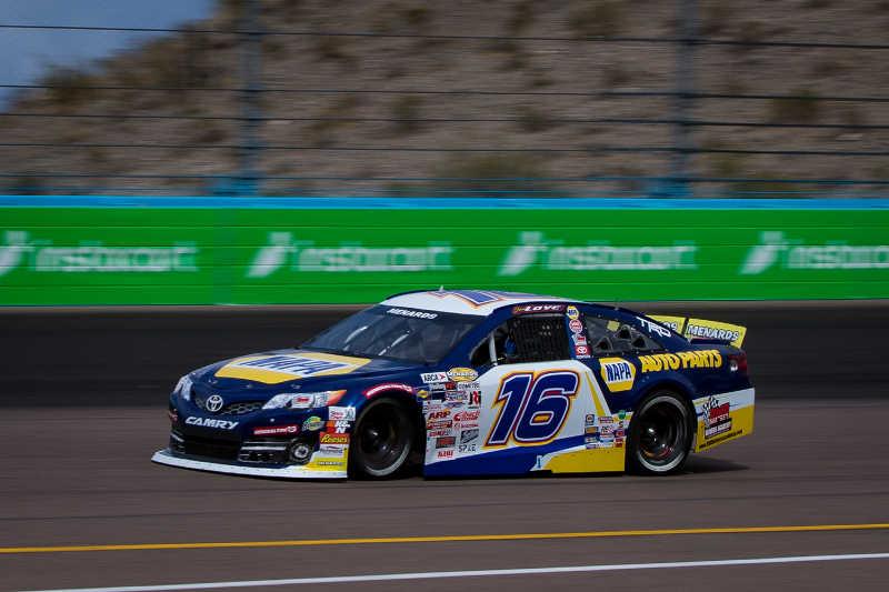 Jesse Love Phoenix Raceway ARCA 2021 NAPA AUTO PARTS 16