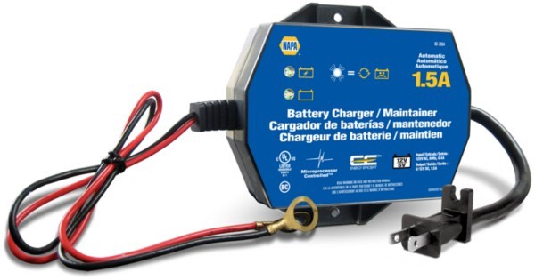 Battery Charger / Maintainer – 1.5A – 6/12 Volts – Automatic