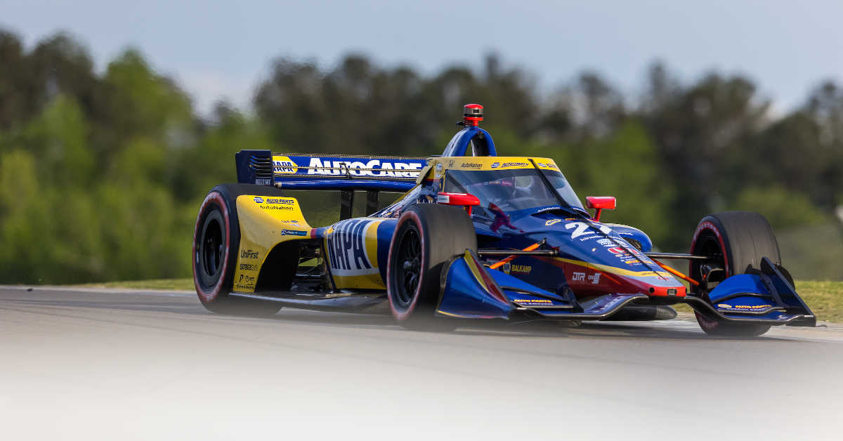 Alexander Rossi 27 NAPA AUTO PARTS Honda Indy Grand Prix of Alabama