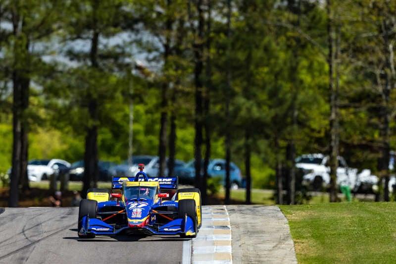 Alexander Rossi 27 NAPA AUTO PARTS Honda Indy Grand Prix of Alabama