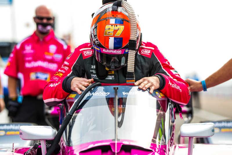 Alexander Rossi St. Petersburg 2021 NAPA AUTO PARTS 27 Andretti Autosport