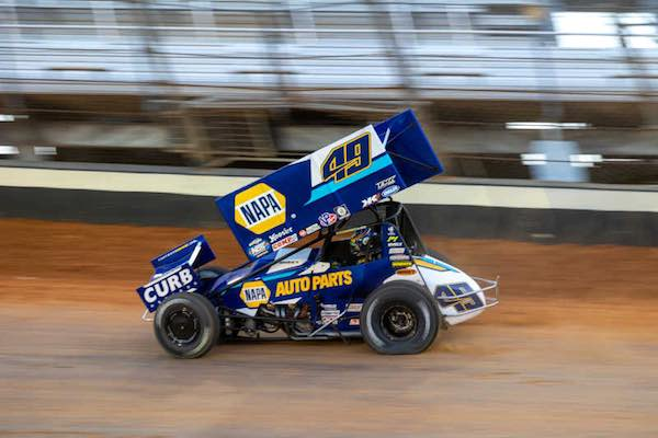 Brad Sweet sprint car