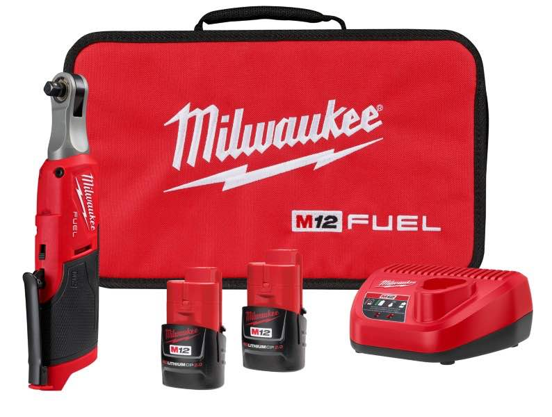 MILWAUKEE® M12 FUEL™ 3/8 in. High Speed Ratchet Kit