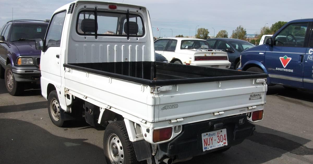 A Subaru Sambar Kei Truck.