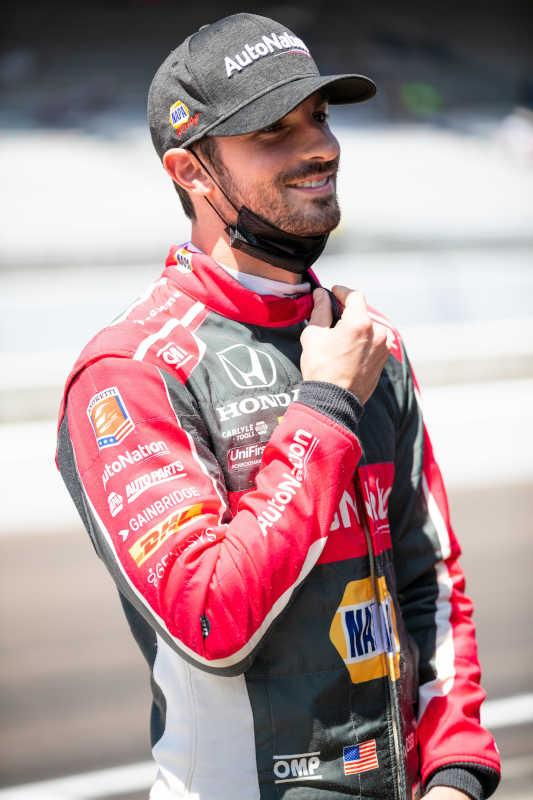 Alexander Rossi IMS Road Course 2021 NAPA AUTO PARTS 27