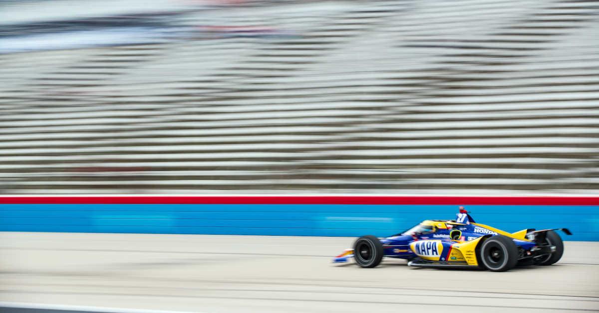 Alexander Rossi NAPA AUTO PARTS 27 IndyCar Texas 2021
