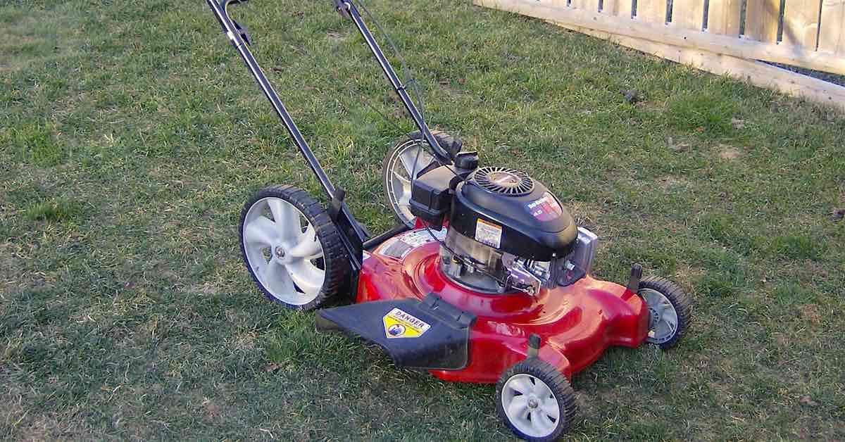 An MTD Lawn Mower.