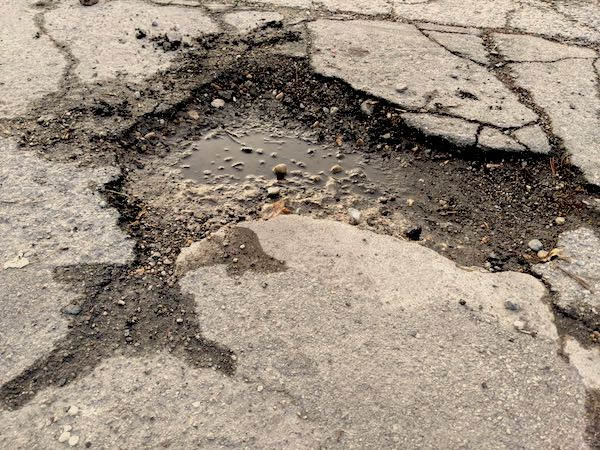 What to Check if You Hit a Pothole