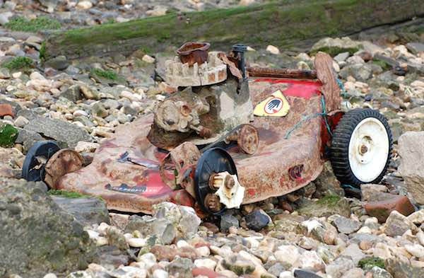 Rusted Lawn Mower