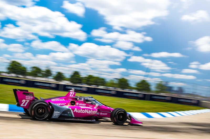Alexander Rossi Detroit GP NAPA AUTO PARTS 2021