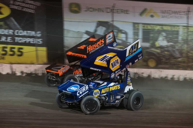 Brad Sweet Granite City Speedway 2021 NAPA AUTO PARTS 49 sprint car