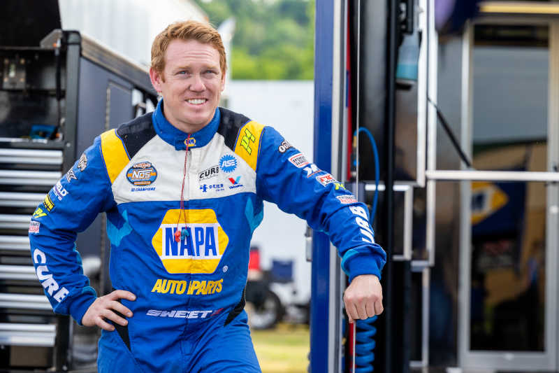 Brad Sweet Lawrenceburg Speedway 2021 NAPA AUTO PARTS 49