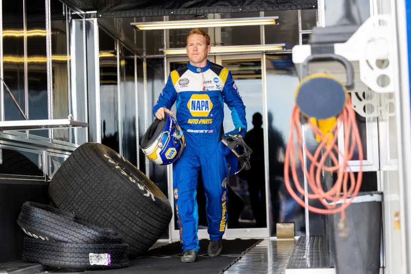 Brad Sweet NAPA AUTO PARTS 2021 34 Raceway