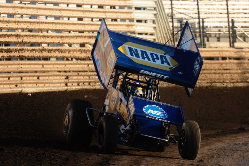 Brad Sweet NAPA AUTO PARTS 49 Knoxville Brownells 2021