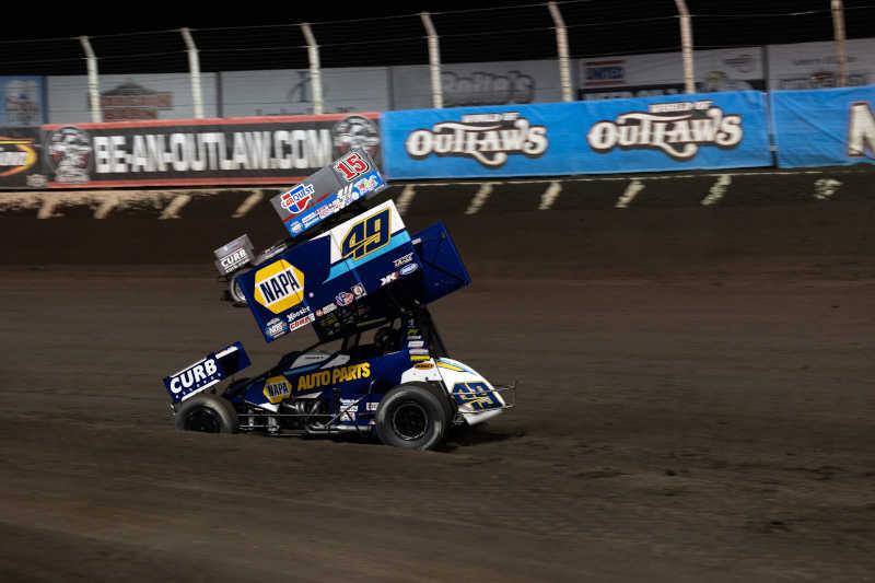 Brad Sweet NAPA AUTO PARTS KKR Huset's Speedway Jackson Nationals 2021