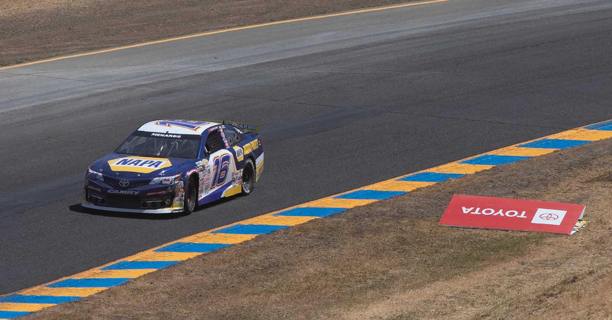 Jesse Love Jr Sonoma Raceway 2021 BMR NAPA AUTO PARTS 16