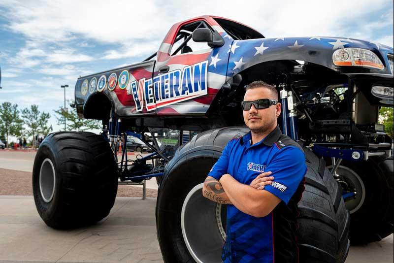 Veteran Monster Truck Driver, Jeff Alire